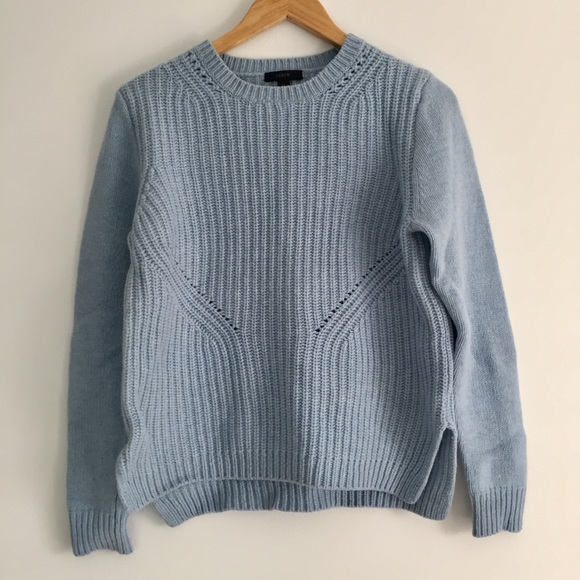 c891a13a7d1 J. Crew Sweaters - J Crew light blue wool sweater